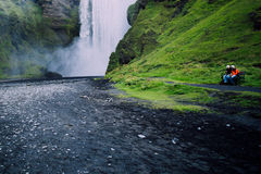 Cachoeira de Islândia Foto de Stock Royalty Free