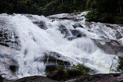 A cachoeira de Karom é uma das atrações do thammara do SI de Nakhon Imagens de Stock Royalty Free