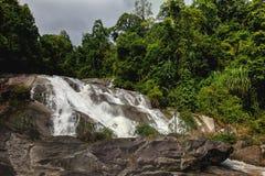 A cachoeira de Karom é uma das atrações do thammara do SI de Nakhon Imagem de Stock