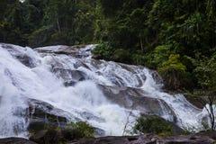 A cachoeira de Karom é uma das atrações do thammara do SI de Nakhon Fotos de Stock Royalty Free