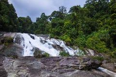 A cachoeira de Karom é uma das atrações do thammara do SI de Nakhon Fotografia de Stock Royalty Free