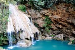 Cachoeira de Kor Luang, Lee, Lam Phun, Tailândia foto de stock royalty free
