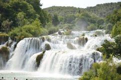 Cachoeira de Krka Fotografia de Stock Royalty Free
