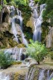 Cachoeira de Kuang Si Imagens de Stock Royalty Free