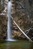 Cachoeira de Lainbach Imagem de Stock