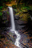Cachoeira de Lumsdale, Matlock Fotos de Stock Royalty Free
