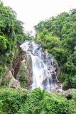 Cachoeira de Mae Tia, parque nacional do pulmão de Ob em Chiangmai Tailândia Fotos de Stock Royalty Free