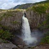 Cachoeira de Manafossen Imagens de Stock