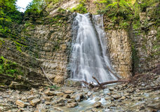 A cachoeira de Manyavsky foto de stock royalty free