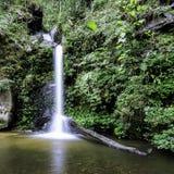 Cachoeira de Monthathan, Chiang Mai, Tailândia Imagem de Stock