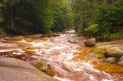 Cachoeira de Mumlava Imagem de Stock Royalty Free