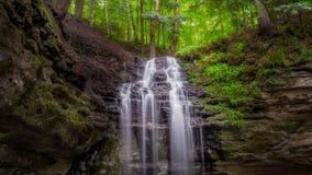 Cachoeira de Munising Michigan Imagem de Stock Royalty Free