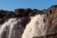 Cachoeira de Muskoka fotografia de stock