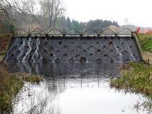 Cachoeira de Netuno no parque de Latimer imagens de stock