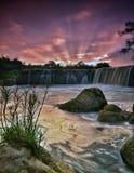 Cachoeira de Parigi Foto de Stock Royalty Free