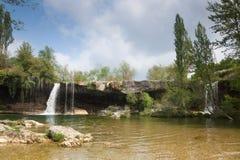 Cachoeira de Pedrosa de Tobalina foto de stock royalty free