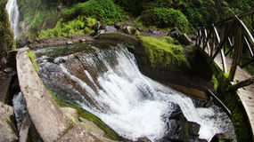 Cachoeira de Peguche Imagens de Stock Royalty Free
