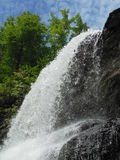 Cachoeira de pressa poderosa Imagens de Stock Royalty Free