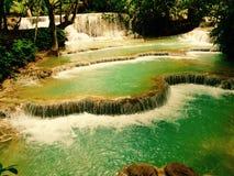 Cachoeira 1 de Quangsi Fotografia de Stock Royalty Free