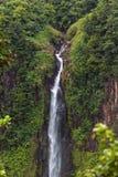 Cachoeira de Rampa du Carbet, Guadalupe fotos de stock