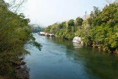 Cachoeira de Sai Yok Yai em Tailândia imagens de stock royalty free