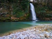 Cachoeira de seda Imagem de Stock Royalty Free