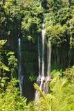 Cachoeira de Sekumpul em Bali Imagem de Stock