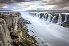 Cachoeira de Selfoss Fotografia de Stock Royalty Free