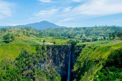 Cachoeira de Sipiso-piso Imagem de Stock Royalty Free