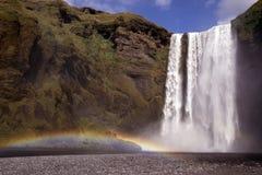 Cachoeira de Skogafoss Imagem de Stock