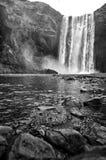 Cachoeira de Skogafoss, Islândia Imagem de Stock