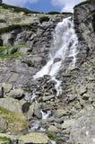 Cachoeira de Skok, Tatras alto em Eslováquia Foto de Stock