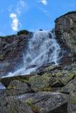 Cachoeira de Skok, Tatras alto em Eslováquia Foto de Stock Royalty Free