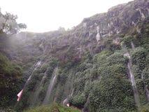 Cachoeira de Sumber Pitu fotos de stock