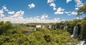 Cachoeira de surpresa de Iguassu Imagens de Stock Royalty Free
