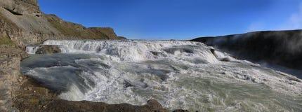 Cachoeira de surpresa de Gullfoss, Islândia Imagens de Stock
