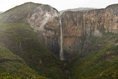 Cachoeira de Tabuleiro Fotos de Stock Royalty Free