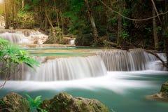 Cachoeira de Tailândia em Kanchanaburi Imagem de Stock Royalty Free