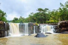 Cachoeira de Tat Ton no parque nacional de Tat-tonelada no provinc de Chaiyaphum Imagens de Stock