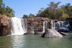 Cachoeira de Tat Ton, Tat Ton National Park Chaiyaphum, Tailândia Imagens de Stock