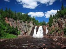 Cachoeira de Tettegouche fotos de stock