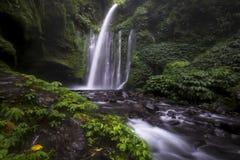 Cachoeira de Tiu Kelep imagens de stock