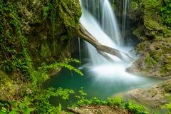 Cachoeira de Vaioaga do La imagens de stock royalty free