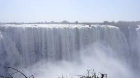 Cachoeira de Victoria, Zimbabwe, África Foto de Stock