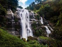 Cachoeira de Wachirathan foto de stock royalty free