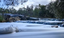 Cachoeira de West Australian imagem de stock royalty free