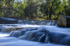 Cachoeira de West Australian imagens de stock