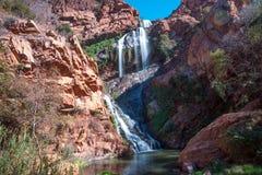 Cachoeira de Witpoortjie, África do Sul Fotos de Stock