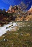 Cachoeira de Zion Imagens de Stock Royalty Free