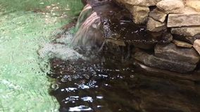 Cachoeira decorativa da associação filme